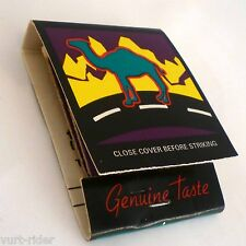 CAMEL cigarette GENUINE TASTE 1996 matchbook fiammiferi new