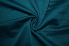 Gray Teal Ponte Double Knit 95% Polyester 5% Spandex Lycra Stretch Fabric BTY
