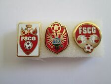 b1 lotto 3 spille MONTENEGRO football federation association team pins lot