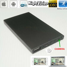 Spy WIFI 1080P HD Mobile Power Bank Hidden Night Vision DVR Video Recording Cam