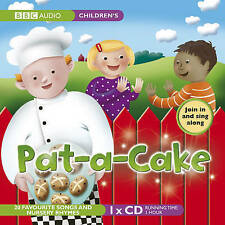 PAT-A-CAKE 20 SONGS & NURSEY RHYMES - NEW/UNSEALED CHILDRENS CD AUDIO BOOK