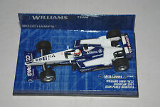 Minichamps F1 1/43 WILLIAMS BMW FW22 SHOWCAR 2001 J.P. MONTOYA