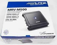 Alpine MRV-M500 Mono subwoofer amplifier 500 W RMSx1 at 2 ohms