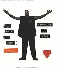 I Know I Got Skillz - Shaquille O'Neal - 5 TRACK MUSIC CD - LIKE NEW - F233