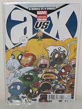 A vs X #1 - Rare Eliopoulos Baby Variant - A-BABIES vs X-BABIES - Marvel YOUNG