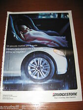 *AH87=BRIDGESTONE PNEUMATICI=PUBBLICITA'=ADVERTISING=WERBUNG=COUPURE=