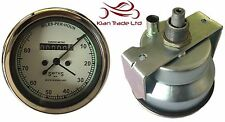 REPLICA SMITHS WHITE FACE SPEEDOMETER 0-80MPH - BSA / ENFIELD / NORTON