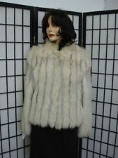 PRE-OWNED NORWEGIAN FOX FUR JACKET COAT WOMEN SZ 4-6