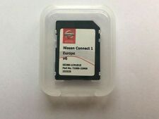 GENUINE NISSAN SAT NAV SD CARD CONNECT 1 LATEST SD CARD V6 / 2016/2017 MAPS