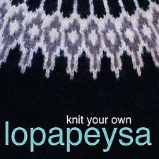 NEW DVD: KNIT YOUR OWN LOPAPEYSA Iceland Yoke Sweater Eiriksdottir Ooinn Freyja