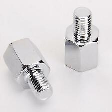 Motorcycle Mirror Adapter Screw Standard 10mm to 10mm Reverse Mirror For Yamaha