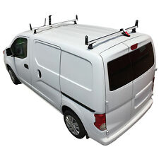 White J2000 2 Bar ladder roof rack for a Nissan NV200 2013-On