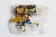 ONE PEICE MANGA- KEYRING FIGURES - LUFFY WITH YELLOW FLAME Banpresto NEW
