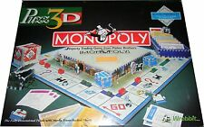 Puzz 3D Monopoly by Wrebbit - Playable Puzz3D 755pc Collectors Puzzle - NEW