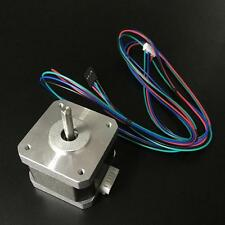 NEW Nema 17 Stepper motor 76oz/in, w/FLAT CNC Robot Reprap Makerbot Arduino 12V