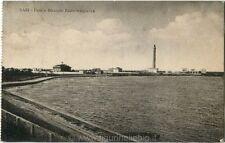 1918 Bari - Vista del Faro e della Stazione Radio-Telegrafica - FP B/N VG