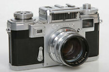 Contax Rangefinder Camera IIIa with Zeiss Sonnar 50mm f1.5 Lens