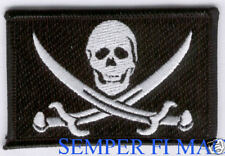 CALICO CAPTAIN JACK SPARROW PIRATES HAT PATCH Caribbean UDT NAVY SKULL N BONES