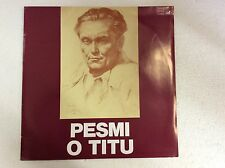 PESMI O TITU   SEALED IMPORT SLOVENIAN POLKA LP