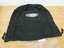GMAX PLATINUM BLACK HELMET BAG DUST COVER FITS HJC SHOEI ARAI THOR FLY ZOAN Z1R