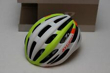 New Giro Foray Bike Helmet White Lime Orange Small Road Vented Race Cycling