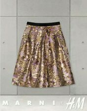 Marni for H&M metallic skirt BNWT UK 12