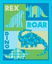 3 Yards Quilt Flannel Cotton Fabric - Springs Dino Roars Dinosaur Quilt Panel