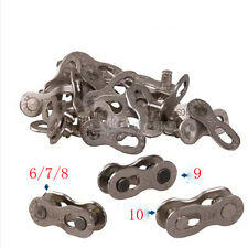 Hot Stainless steel Chain for Bicycle Cycling KMC Link 6/7/8/9/10 Speed