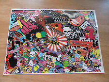 Sticker Bomb sheet 4 - A4 size