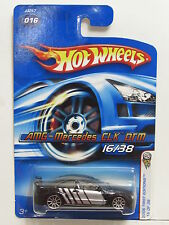 HOT WHEELS 2006 FIRST EDITIONS AMG-MERCEDES CLK DTM #016 BLACK