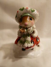 WEE FOREST FOLK SPECIAL COLOR PENNY GWEN WITH PENGUINS  SOLD OUT
