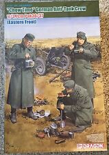 "1/35 ""Chow Time"" German Anti-Tank Gun Crew w/3.7cm PaK 35/36 ~~ Dragon DML #6697"