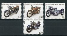 Liechtenstein 2016 MNH Motorcycles Harley Davidson Norton Rudge 4v Set Stamps