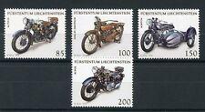 Liechtenstein 2016 estampillada sin montar o nunca montada motocicletas Harley Davidson Norton Rudge 4v conjunto de sellos