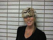 Fur Headband Bobcat/Lynx Canadian Authentic