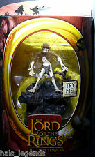 Lord of the Rings The Two Towers GOLLUM w/Electronic Sound Base New! Rare!