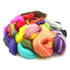 500g of Merino Wool Roving / Top Waste - Botany Lap Waste