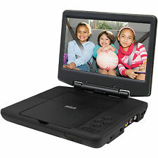 "BRAND NEW 9"" RCA DRC98090 Rechargeable Compact Portable DVD/CD Player - Black"