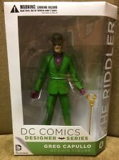 "DC Comics THE RIDDLER Greg Capullo Designer Series 1 DC Collectibles  6"" Figure"