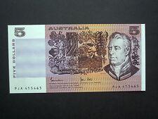 ***Fresh Crisp  Australia**  $5  'UNC'   1983  Johnston & Stone  Banknote*****