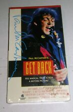 Paul McCartney's Get Back VHS 1990 World Tour Movie New Sealed Beatles