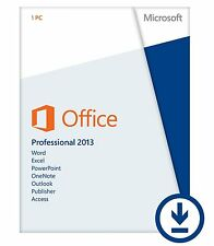 Key für Office Professional Plus 2013 32/64bit Deutsch