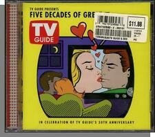 TV Guide Presents Five Decades Of Great Love Songs - New 2002, 12 Song CD!