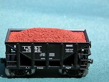 """Hay Brothers HO Scale IRON ORE LOADS - fits Walthers """"MICHIGAN"""" IRON ORE Cars"""