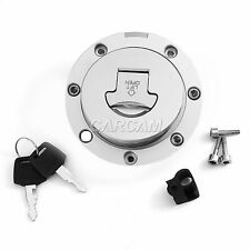 1x Fuel Cap Gas Tank Cover w/ Key For Honda CBR900RR 893 919 CBR1000F CB1000