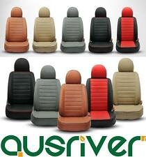 Red Black Beige Grey Brown Tailor For BMW 1 3 5 6 7 Front Rear Seat Cover Set