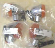 GETS TWO PAIRS - FRONT 3 WIRE SIGNAL LIGHTS - HONDA SHADOW VT600 + VT1100