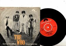 THE WHO 7'' PS Summertime Blues Norway Polydor 2094 002 very rare MOD cover 45