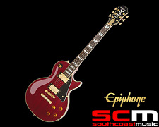 EPIPHONE LES PAUL PRO 100TH ANNIVERSARY LIMITED CHERRY, ELECTRIC GUITAR w/ CASE