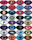 NFL Team Football Stickers your choice of teams